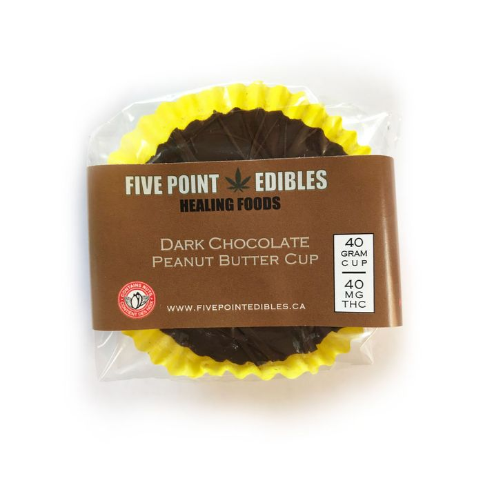 chocolate peanut butter cup 40 mg five point edibles