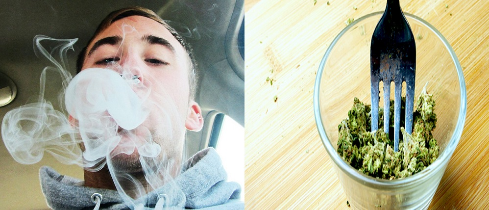 Differences Between Smoking and Eating Weed