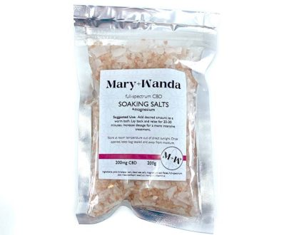 mary+wanda soaking salts